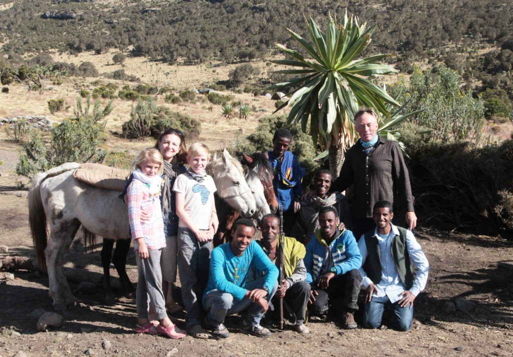 Dave, bottom right, and our Simien support team